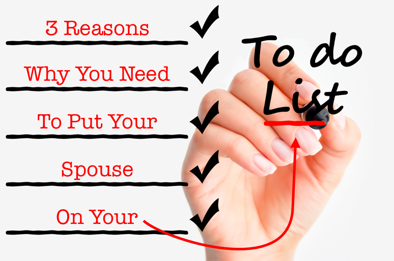 To-Do List and Your Spouse