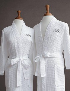 His and Her Bath Robes
